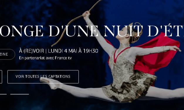 Confinement : l'Opéra de Paris prolonge ses représentations gratuites jusqu'à fin mai