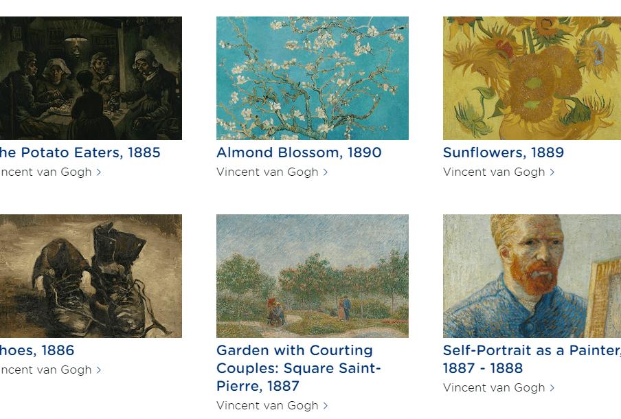 Visitez le musée Van Gogh depuis chez vous !