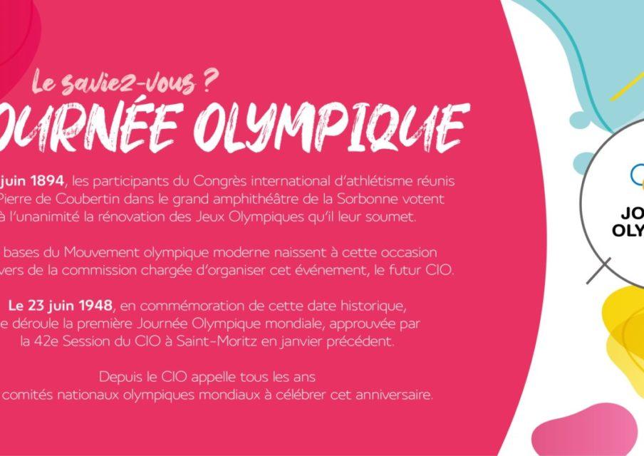 La journée olympique s'adapte à la crise sanitaire