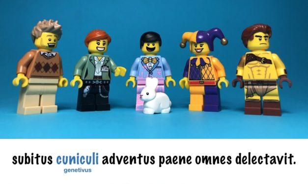 Apprendre le latin avec des scènes en Lego