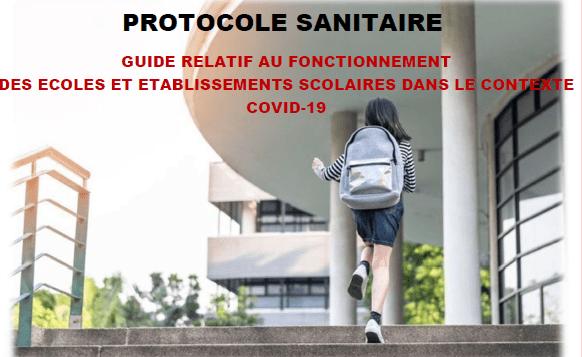 Le nouveau protocole sanitaire enfin publié