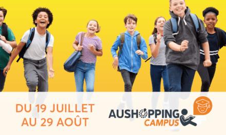 « Aushopping Campus » : soutien scolaire cet été dans les centres commerciaux