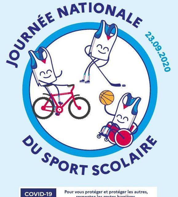 Journée nationale du sport scolaire 2020 : santé et reprise d'activité physique