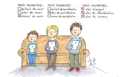Concertation du Grenelle de l'Education : moins de cours et plus d'argent !