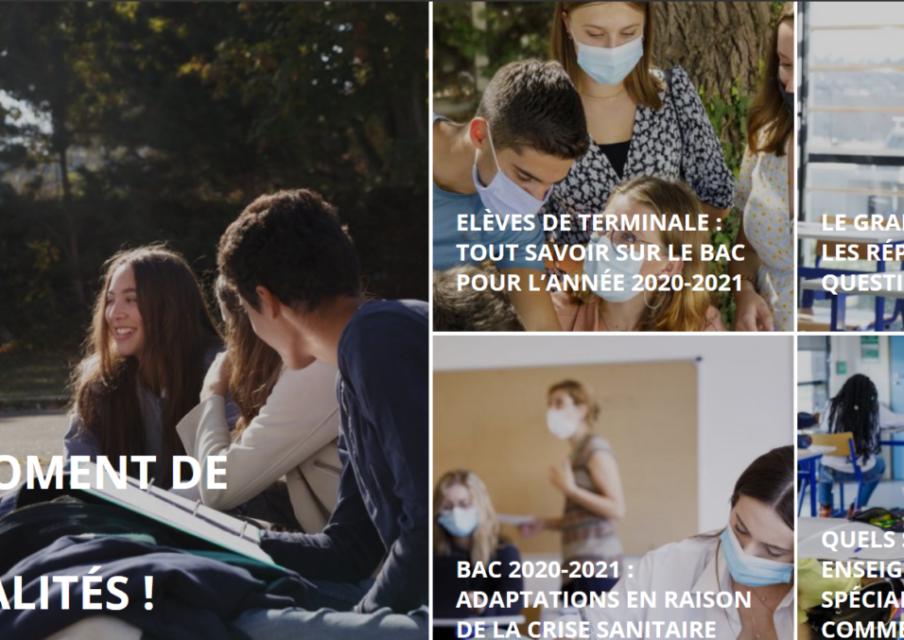 Elèves de terminale : deux sites officiels pour préparer son bac et ses études supérieures