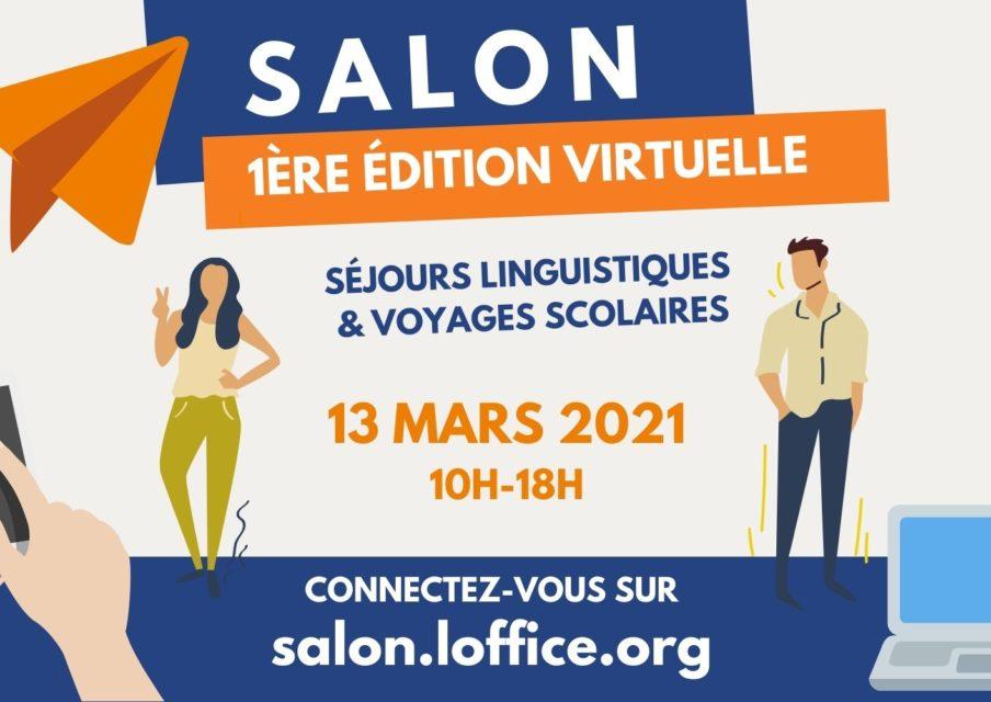 Salon des séjours linguistiques et voyages scolaires 2021 : une édition 100 % en ligne !