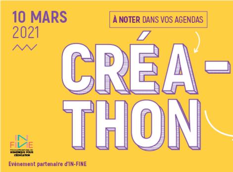 Créathon 2021 : le hakathon de l'éducation et du numérique aura lieu le 10 mars