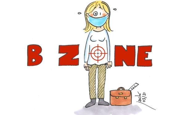Zone B : la zone de tous les dangers