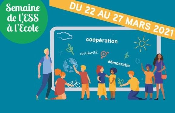 La Semaine de l'Economie sociale et solidaire à l'Ecole démarre aujourd'hui