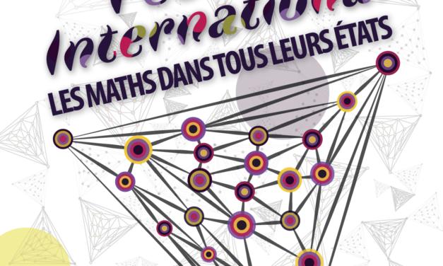 Le festival international « Les maths dans tous leurs états » revient pour une 5e édition