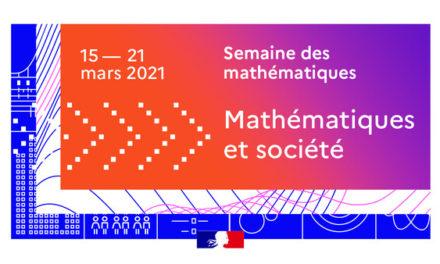 C'est la semaine des mathématiques !
