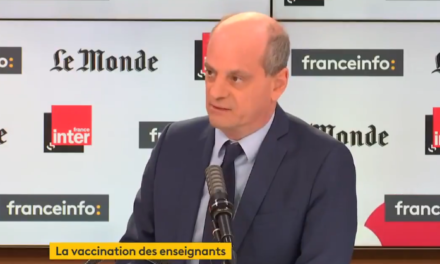 Vaccination des profs : « probablement mi-avril », annonce Blanquer