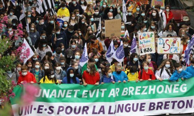 Des manifestations pour défendre l'enseignement des langues régionales