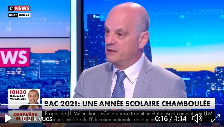 Jean-Michel Blanquer défend le Grand Oral