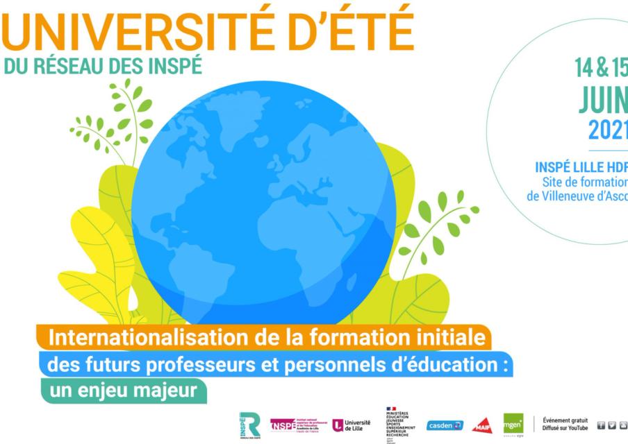 Université d'été des INSPE : les formations d'enseignant à l'international au programme