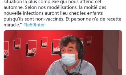 A. Fontanet : «la moitié des nouvelles infections auront lieu chez les enfants» à l'automne