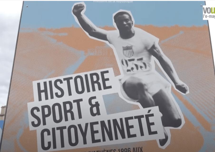 Paris : une exposition pédagogique sur les grands athlètes installée au Live des Jeux