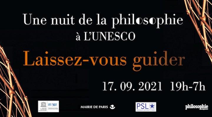Une «Nuit de la Philosophie» à l'UNESCO