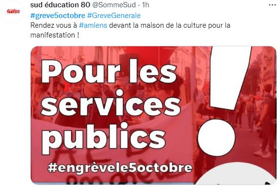 Grève du 5 octobre : l'éducation en première ligne