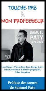 Un recueil de textes d'élèves en hommage à Samuel Paty, remporte le Prix de l'Initiative Laïque 2021