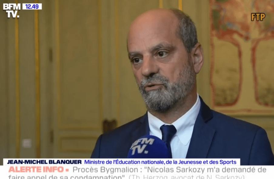 Covid-19 : les enseignants « garderont le masque », annonce Blanquer